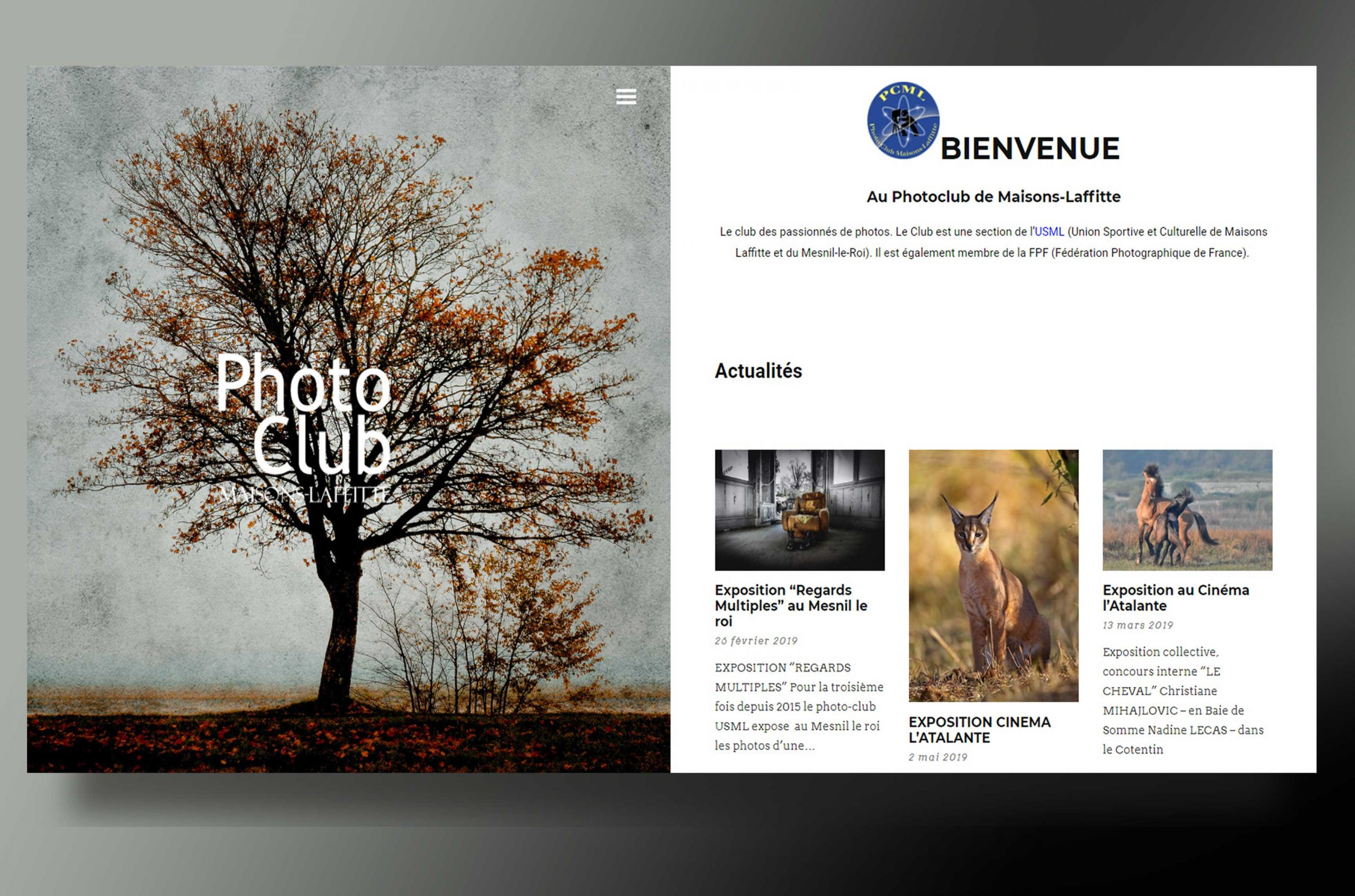 Page d'accueil Photo Club